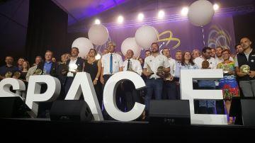 Les entreprises récompensées par trois étoiles aux Innov'Space