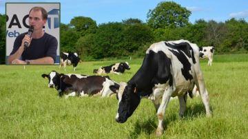 G. Aveline (35) a réintroduit l'élevage laitier sur sa ferme céréalière bio
