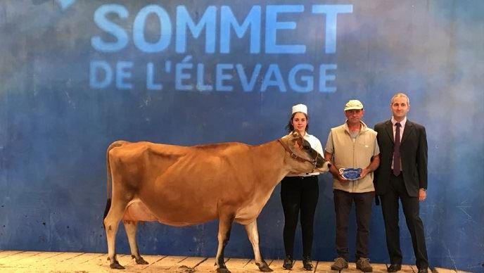 Fauvette remporte le titre de Grande Championne de la race Jersiaise
