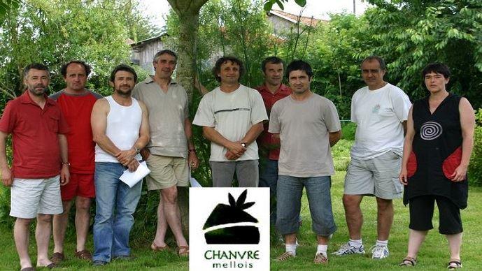 Le groupe de producteurs du «Chanvre Mellois»