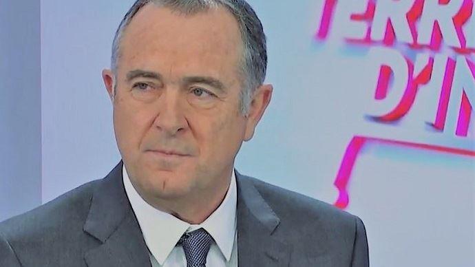 Didier Guillaume, sur le plateau de Public Sénat.