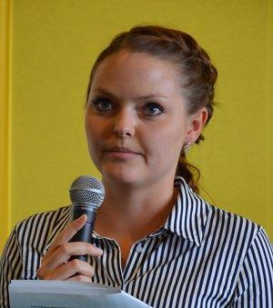 Lena Müller-Lohse, chargée de mission à l'office franco-allemand pour la transition énergétique.