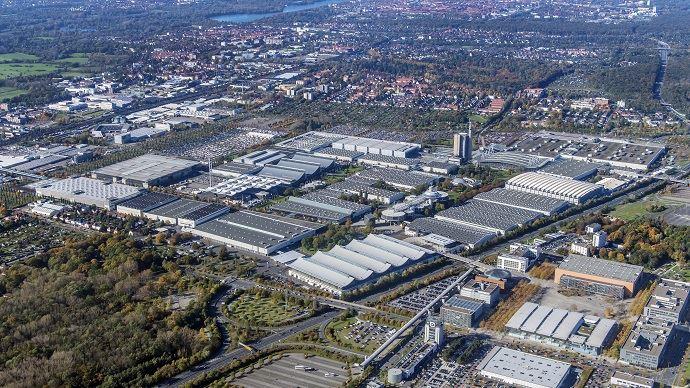 Du 13 au 16 novembre, le salon de l'élevage EuroTier s'étend sur une quinzaine de halls, soit 26ha, à Hanovre en Allemagne