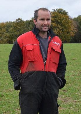 Guillaume Deslandes, éleveur à Ménéac (56)