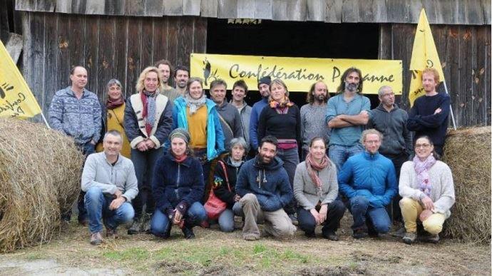 Dans l'Ariège, la Confédération paysanne espère arriver en tête du scrutin des élections chambres d'agriculture de janvier 2019, avec la liste emmenée par David Eychenne.