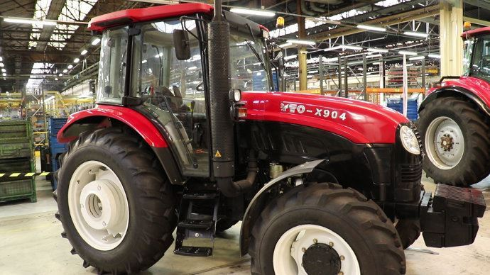 Tracteur Yto fabriqué en chine, les futurs tracteurs seront européens