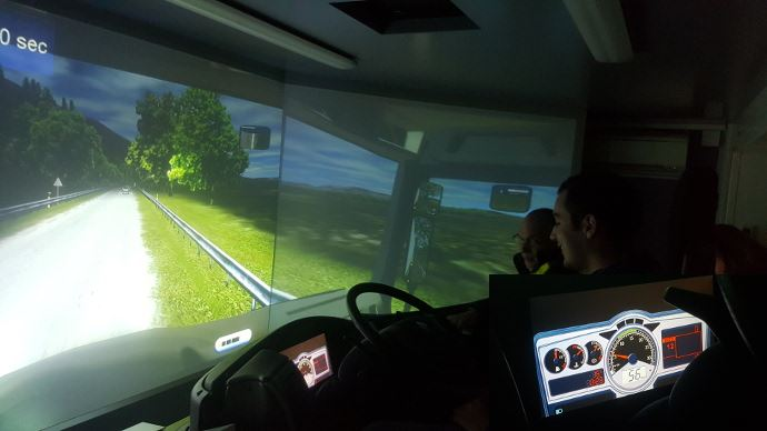 Simulateur conduite éco-conduite