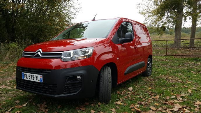 Le Berlingo Van remplacera le C15 de Citroën?