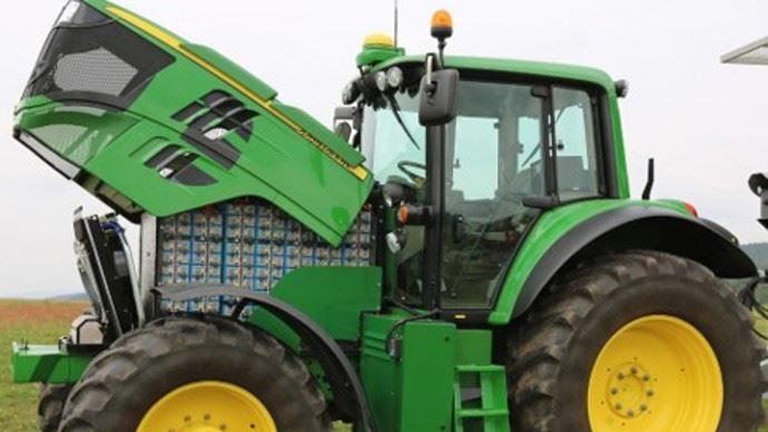 John Deere Sesame, le tracteur 100% électrique de John Deere