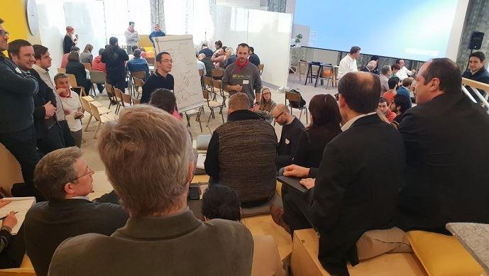 Au cœur des ateliers participatifs du #CoFarmingFest Super démarche collaborative.