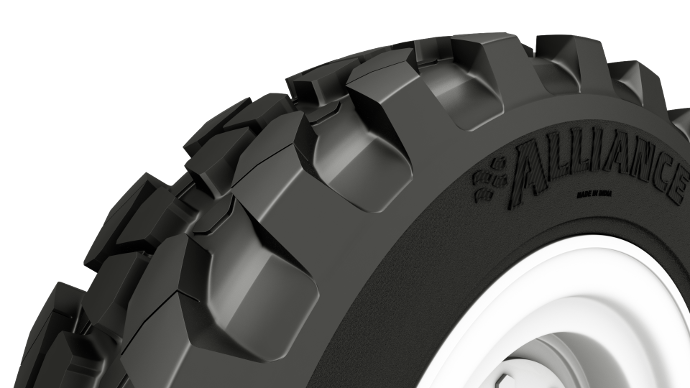 Alliance A585, conçu pour les télescopiques, les tractopelles et les chargeurs compacts,