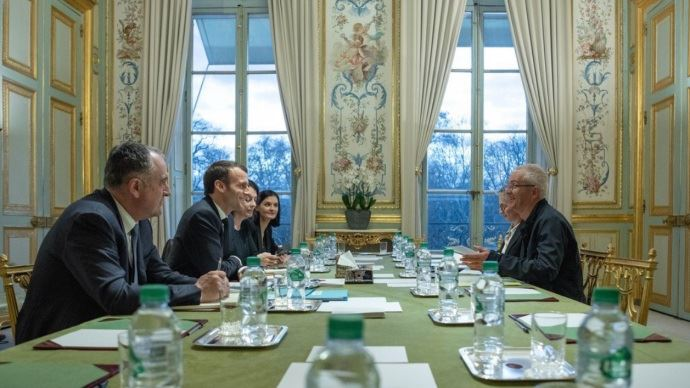 Bernard Lannes, Emmanuel Marcon, Élysée, Didier Guillaume