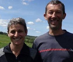 Isabelle et Xavier Lombardot, éleveurs laitiers du Doubs