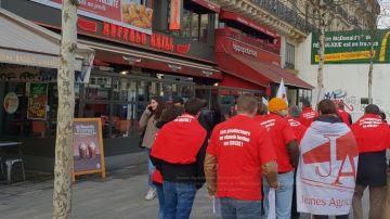 La FNB et JA en action dans des restaurants pour exiger «l'origine France»