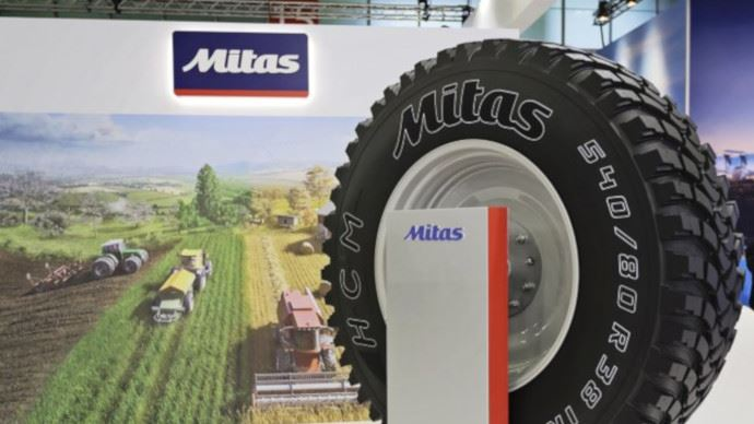 Mitas lance de nouvelles gammes de pneumatiques agricoles au Sima.