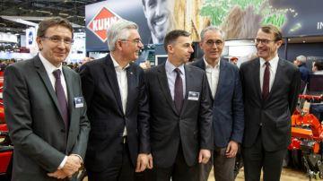 Kuhn rejoint Agco et Michelin