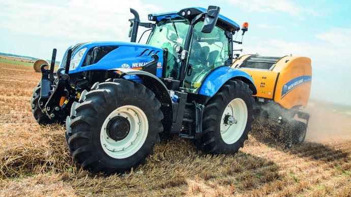 Tracteur T6.160 de New Holland