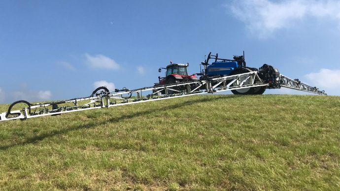 Rampe Evrard avec suspension LPA6 et option AutoTerrain en action