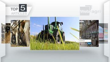Le Deutz-Fahr 6165-4 TTV et l'alimentation des vaches laitières à la Une