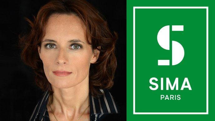 Isabelle Alfano, directrice du Sima Paris