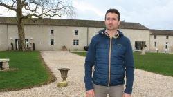 Anthony Héline, agriculteur à Vouzailles