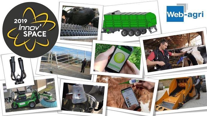 46 innovations reçoivent la distinction des Innov'Space et seront présentées du 10 au 13 septembre 2019 à l'occasion du salon international de l'élevage.