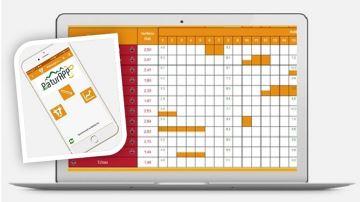 Un calendrier de pâturage qui tient dans une poche grâce à sa version appli