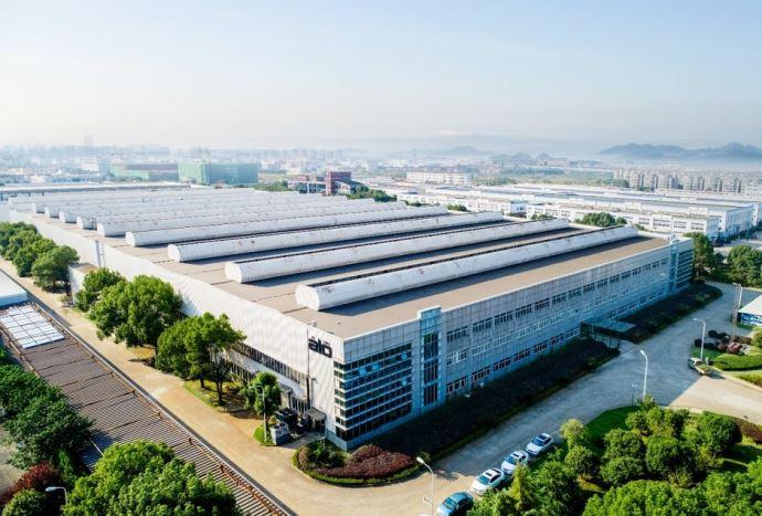 L'usine de Alo à Ningbo en Chine permet de au fabricant de doubler sa capacité de production d'outils