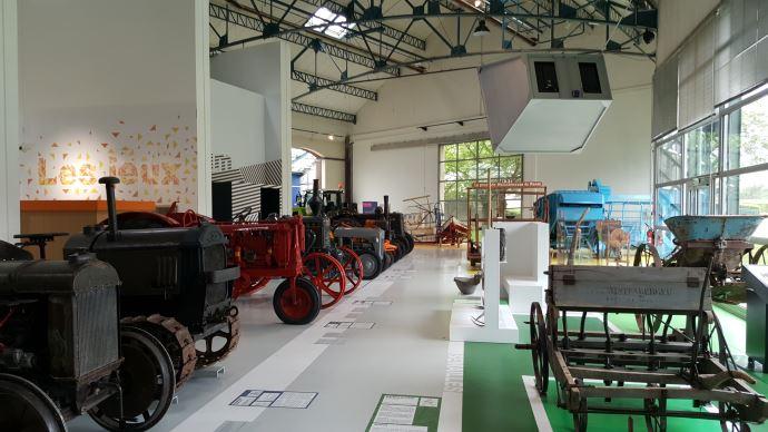Les petits fabricants français de machine agricole bientôt au musée comme ici au Compa de Chartres?