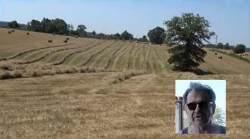 Paysanheureux: «Je peins des traits dans mes prairies pour la dernière fois»