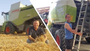 Deux agriculteurs, deux stratégies pour la moisson