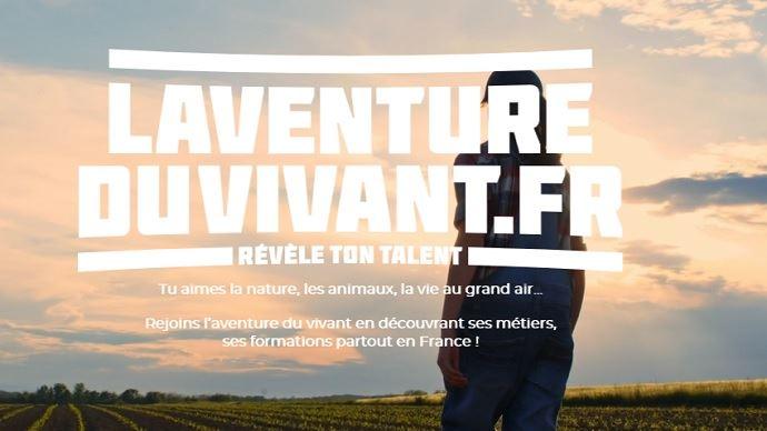 home page site web lagricultureduvivant.fr