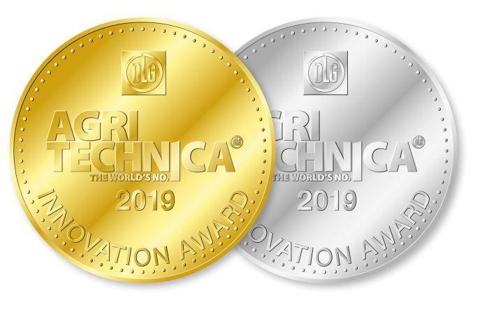 Dans le cadre de l'Agritechnica 2019, le concours de l'innovation dévoile son palmarès: Une médaille d'or et 39 d'argent.