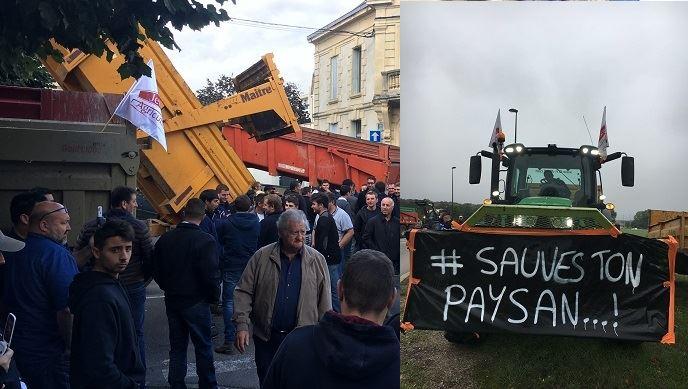 Manifestation dans la Nièvre