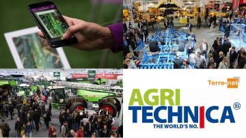 Partez 2 jours gratuitement à Agritechnica et devenez agri-reporter!