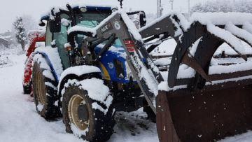 11 départements en alerte orange pour neige et fortes précipitations