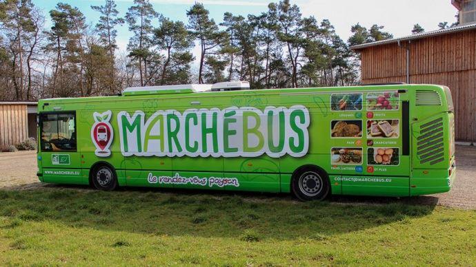 marche bus en alsace de produits agricoles bio
