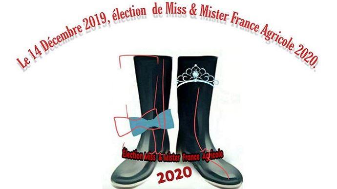Le concours Miss et mister France agricole 2020 est lancé depuis le 23 novembre