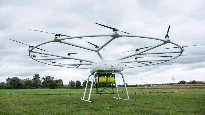 Volodrone fera ses premiers vols d'essais l'année prochaine.