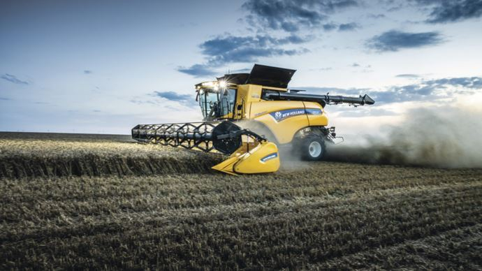 New Holland CR 10.90 IntelliSense