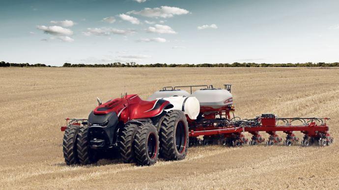 Case IH tracteur autonome