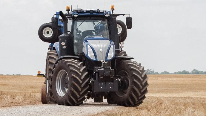 Tracteur New Holland et technologie NHDrive