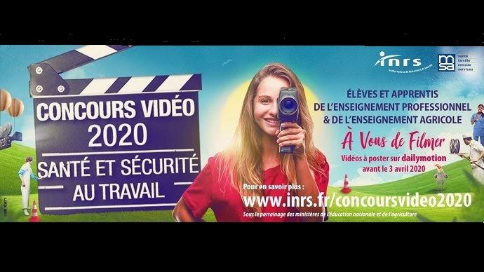 concours video sante et securite au travail del inrs