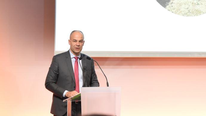 Arnaud Rousseau, président de la Fop, lors de l'assemblée générale du 30 janvier
