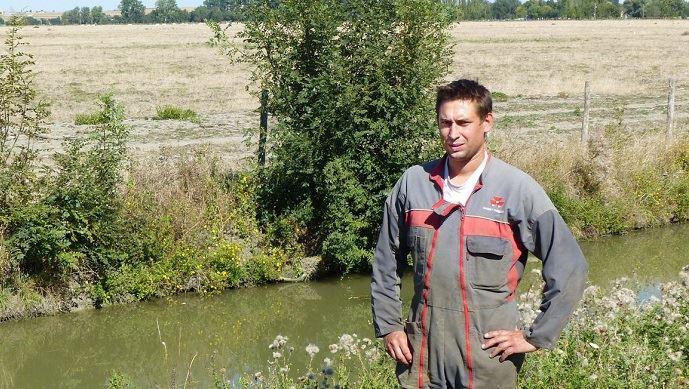 Alexis Gelot, éleveur dans le marais poitevin