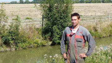 Alexis Gelot (85): «L'irrigation me permet 100% d'autonomie fourragère»
