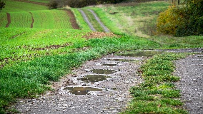 La France souffre toujours d'un excès de pluies