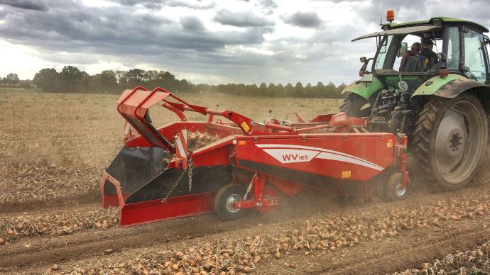 Aligneuse Grimme WV 165