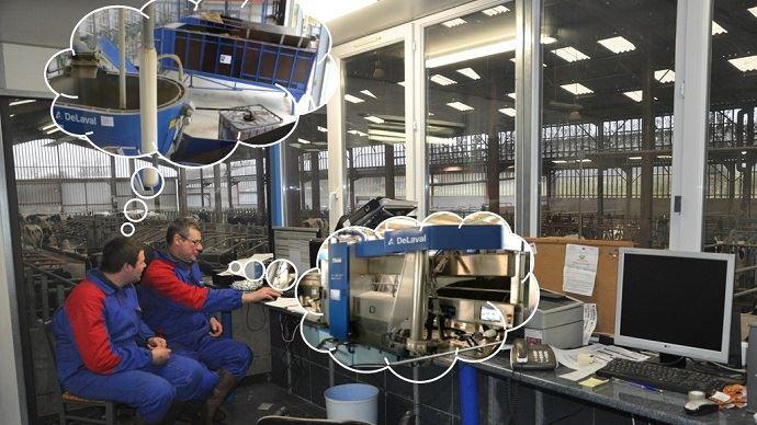 Choisir entre un robot de traite et robot d'alimentation