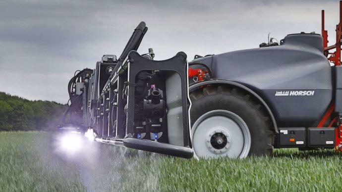 Le pulvérisateur entrée de gamme vu par Horsch: Leeb AX.